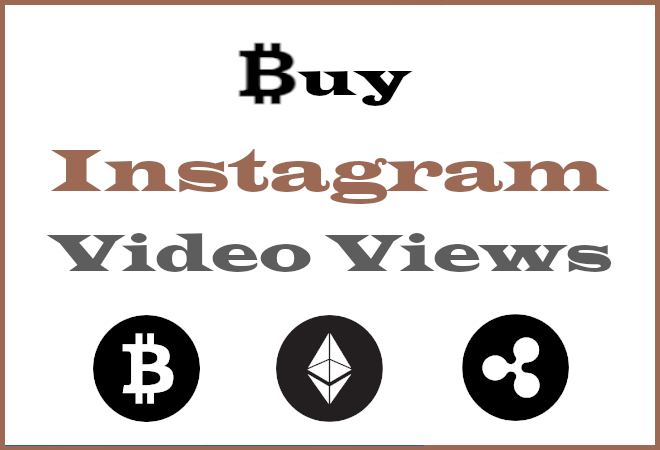 Buy Insta Views With Bitcoin