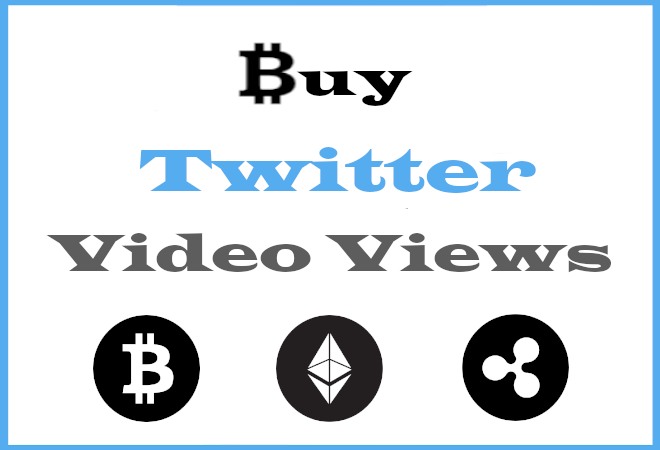 Buy Twitter Video Views With Bitcoin